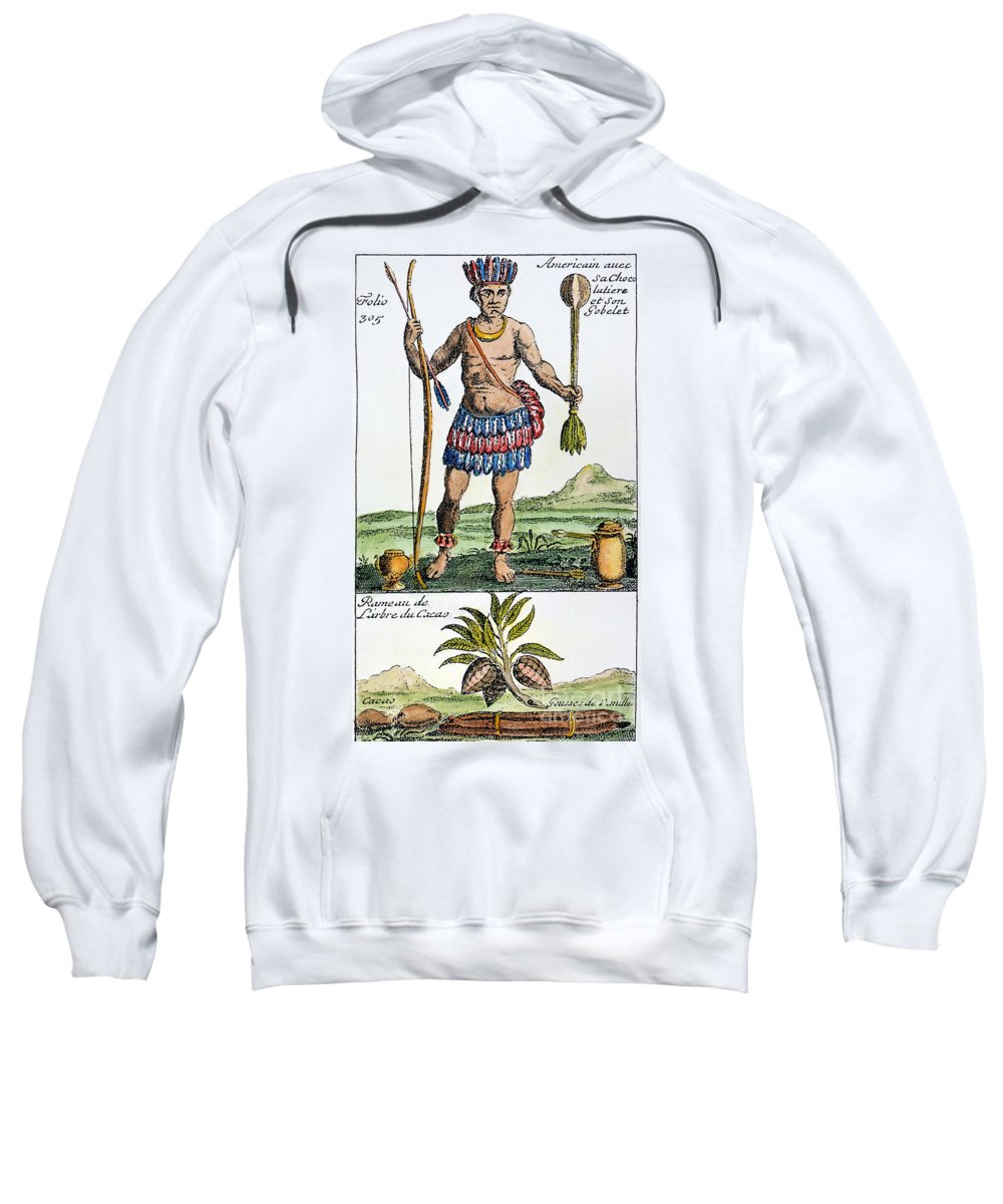 1685 Sweatshirt featuring the photograph Aztec: Chocolate, 1685 by Granger