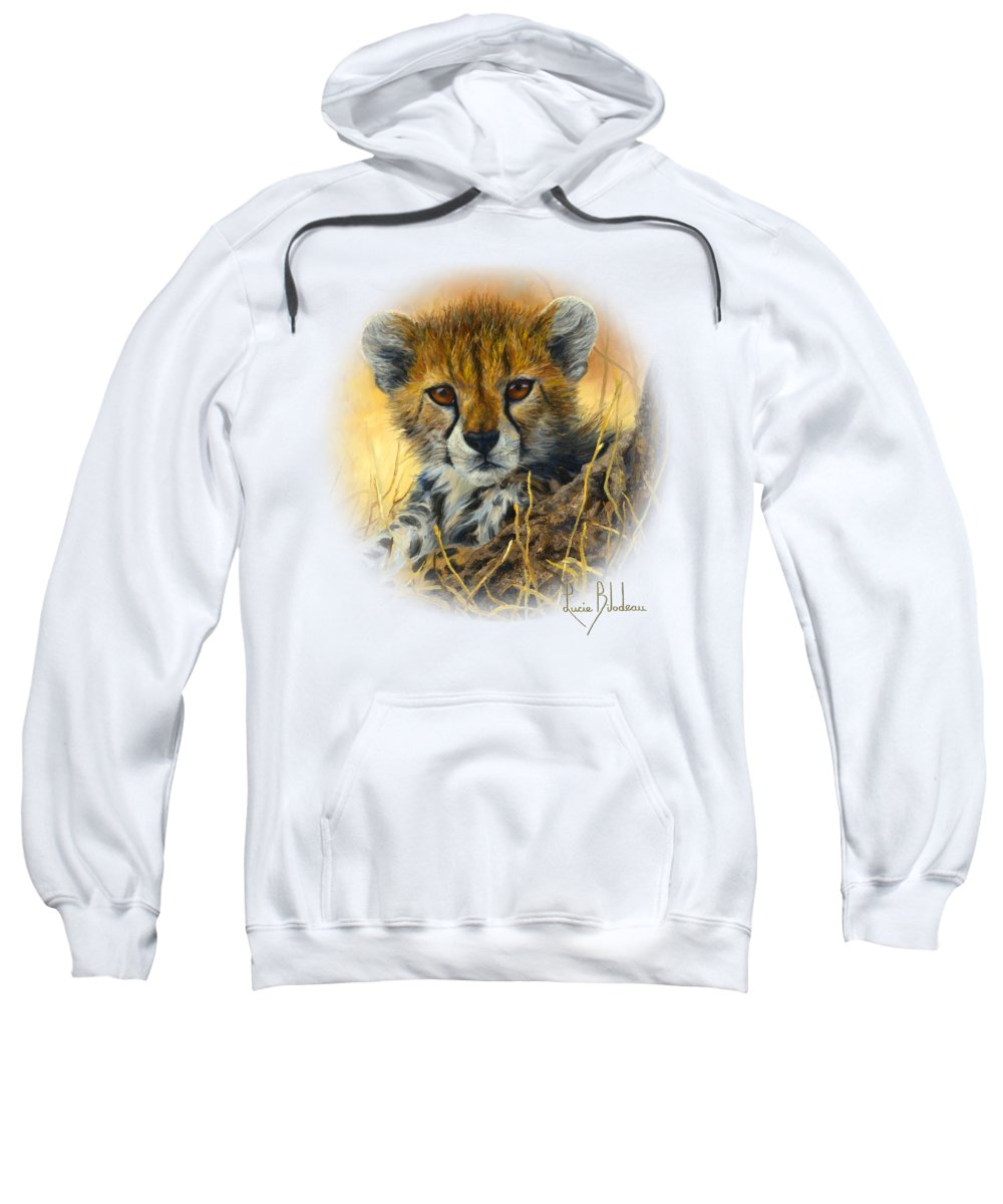 Cheetah Hooded Sweatshirts T-Shirts