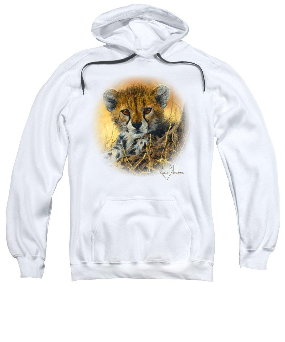 Cheetah Hooded Sweatshirts T-Shirts