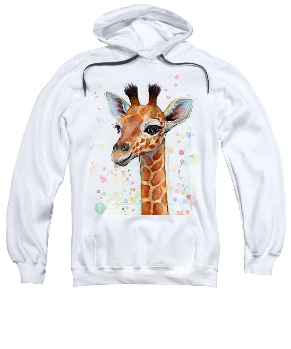 Giraffe Hooded Sweatshirts T-Shirts