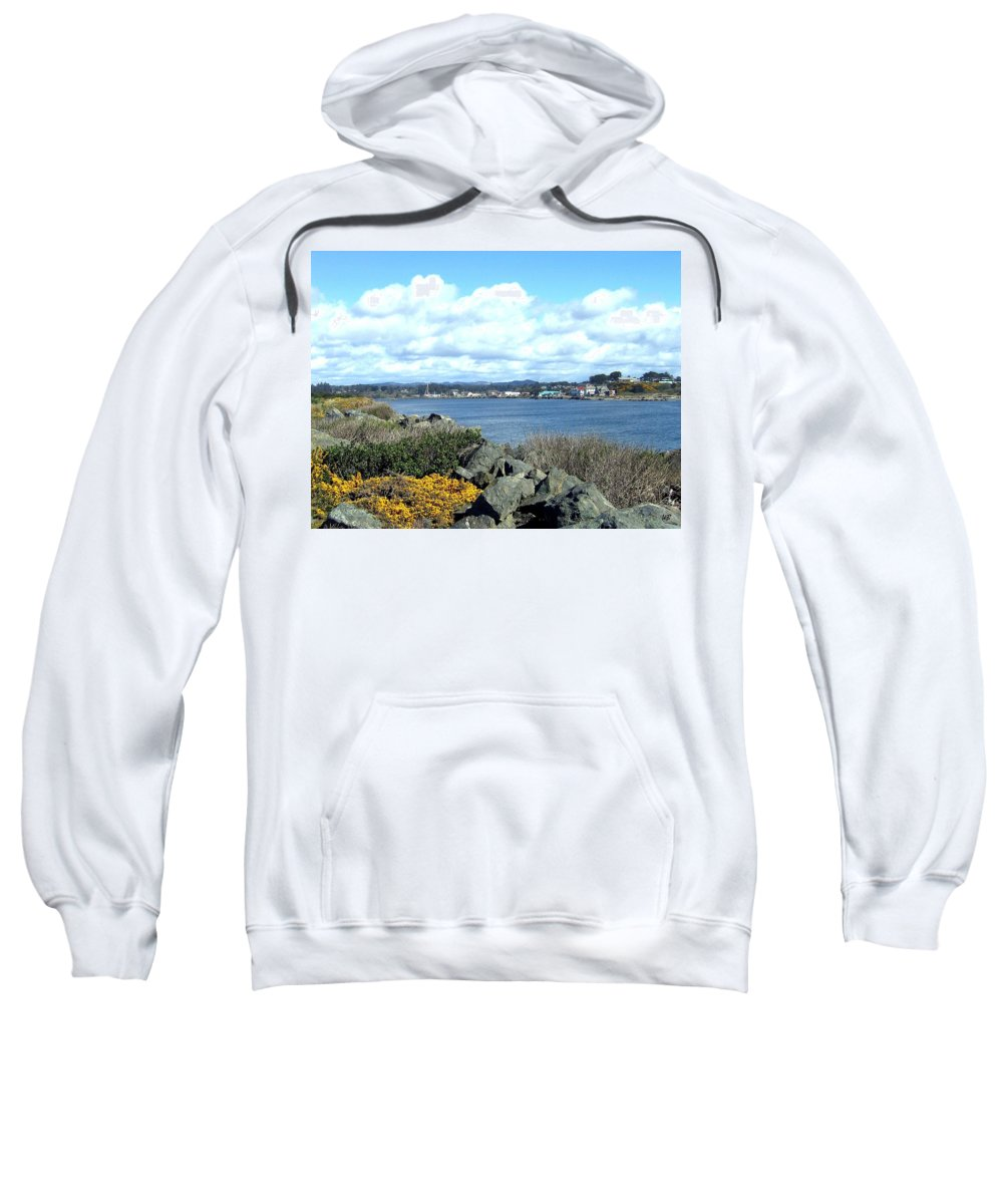 Bandon Sweatshirt featuring the photograph Bandon 2 by Will Borden