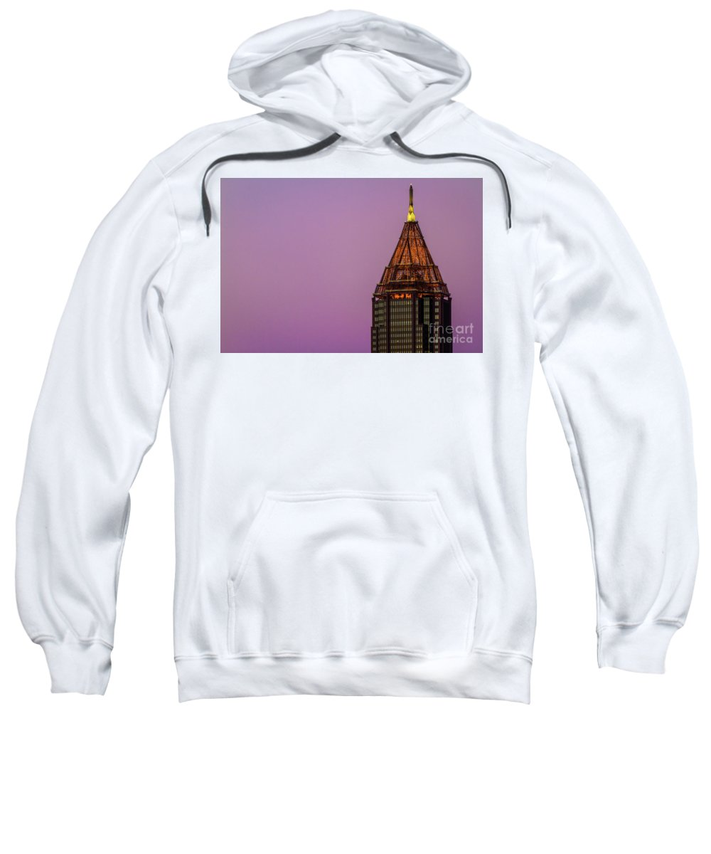 Bank Of America Sweatshirt featuring the photograph Bank Of America by Doug Sturgess