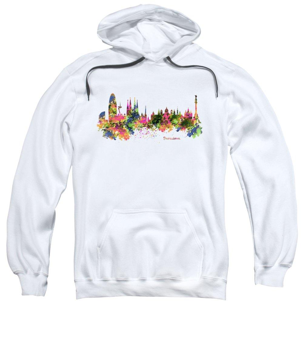 Barcelona Hooded Sweatshirts T-Shirts