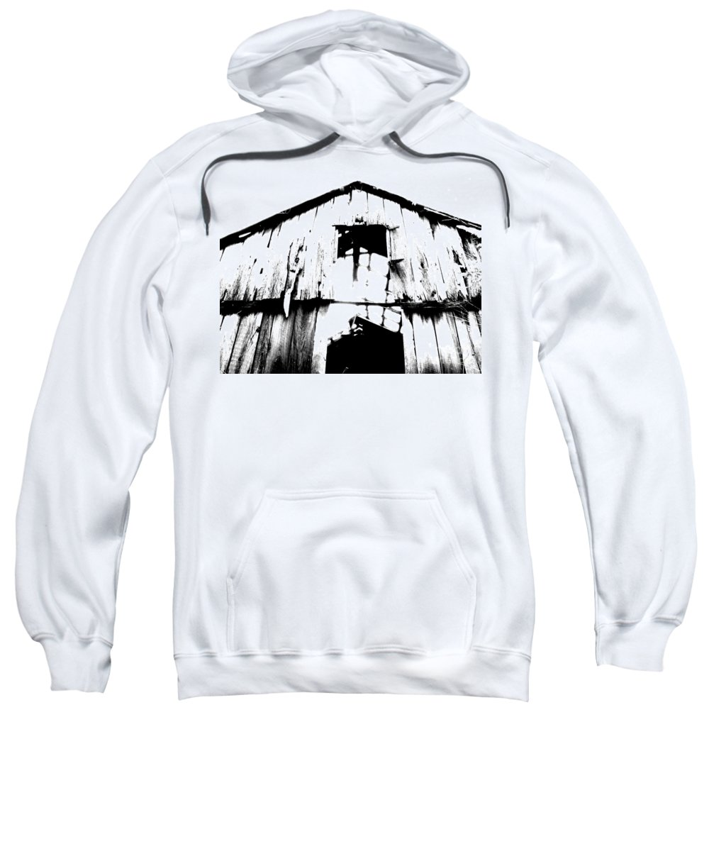 Barn Sweatshirt featuring the photograph Barn by Amanda Barcon