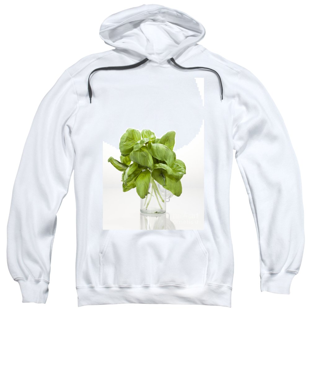 Basil Sweatshirt featuring the photograph Basil by Wolfgang Steiner