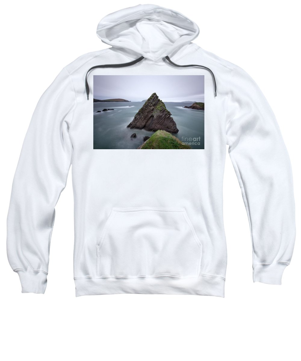 Kremsdorf Sweatshirt featuring the photograph Be Still And Listen by Evelina Kremsdorf