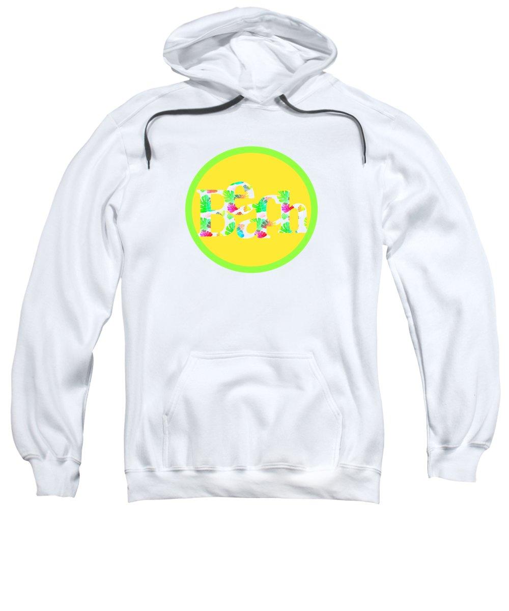Beach Sweatshirt featuring the digital art Beach Life by Kathleen Sartoris