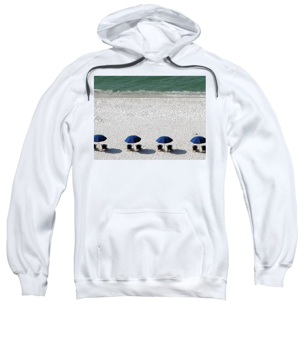 Beach Sweatshirt featuring the photograph Beach Therapy 2 by Marie Hicks