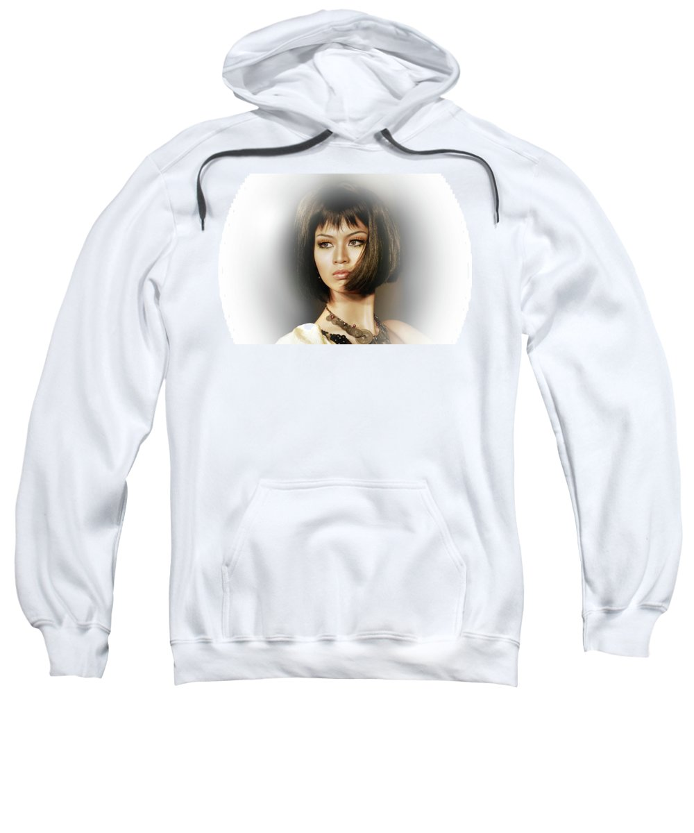 Sweatshirt featuring the photograph Beautiful by Charuhas Images