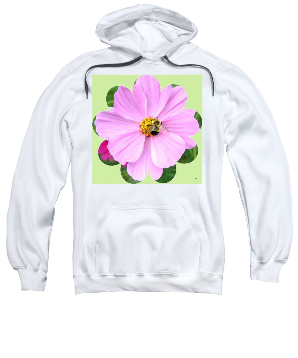 Photo Design Sweatshirt featuring the photograph Bee-line 1 by Will Borden