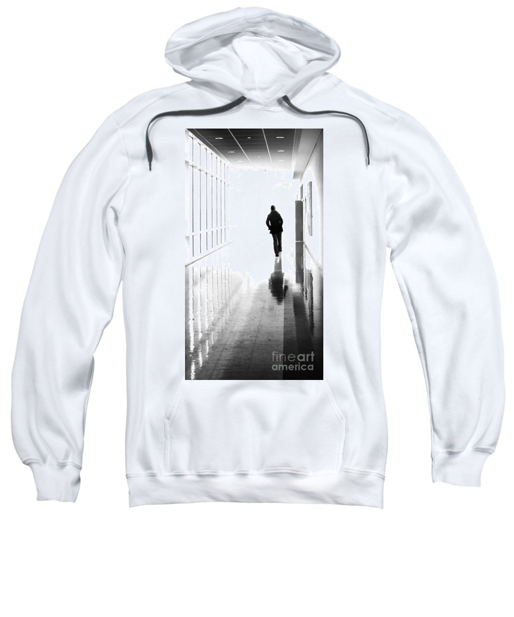 Dipasquale Sweatshirt featuring the photograph Being Alone Doesnt Mean Youre Free by Dana DiPasquale