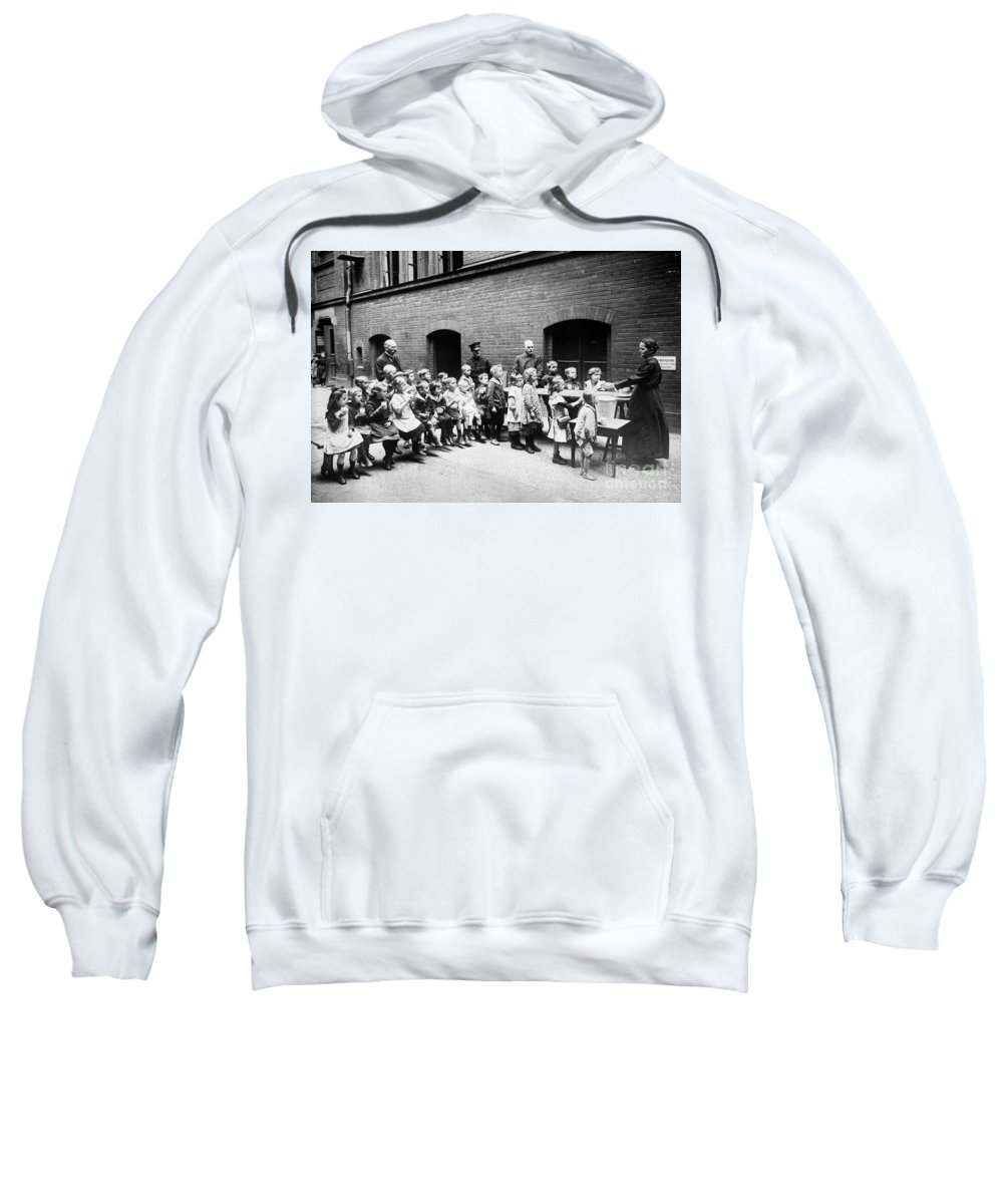 20th Century Sweatshirt featuring the photograph Berlin: Salvation Army by Granger
