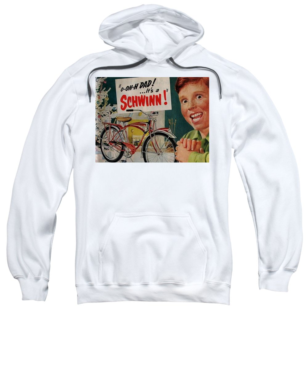 Bicycle Sweatshirt featuring the digital art Bicycle by Bert Mailer