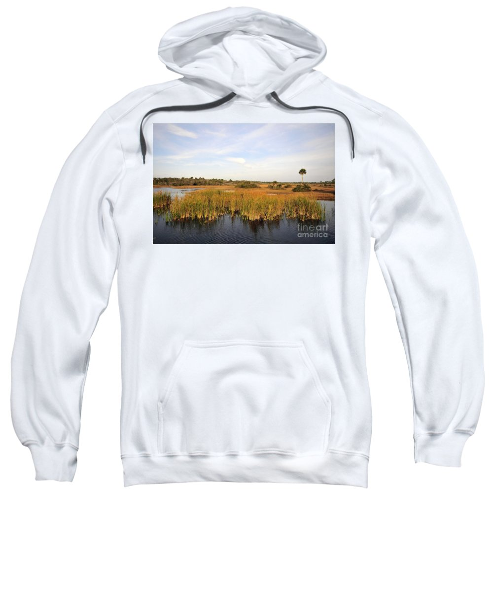 Big Cypress National Preserve Florida Sweatshirt featuring the photograph Big Cypress Landscape Number Six by David Lee Thompson