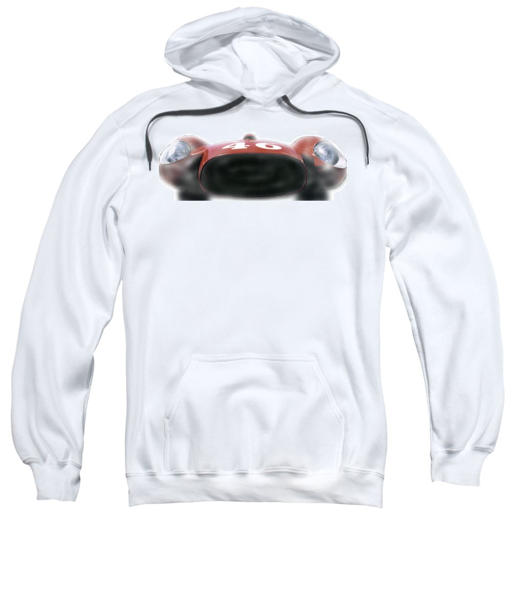 Automobile Sweatshirt featuring the photograph Big Mouth by Alan Olmstead