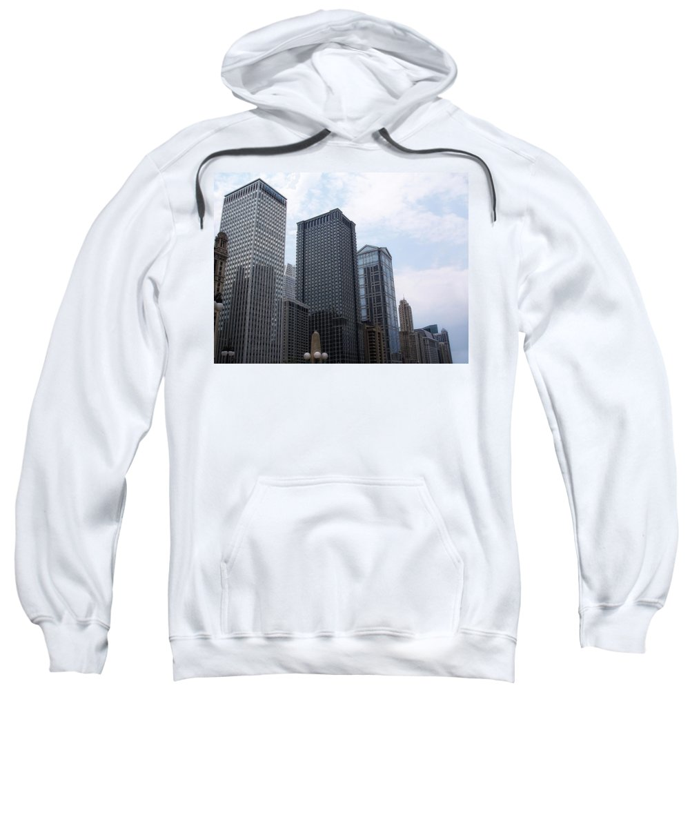 Chicago Sweatshirt featuring the photograph Big N Tall by Donna Blackhall