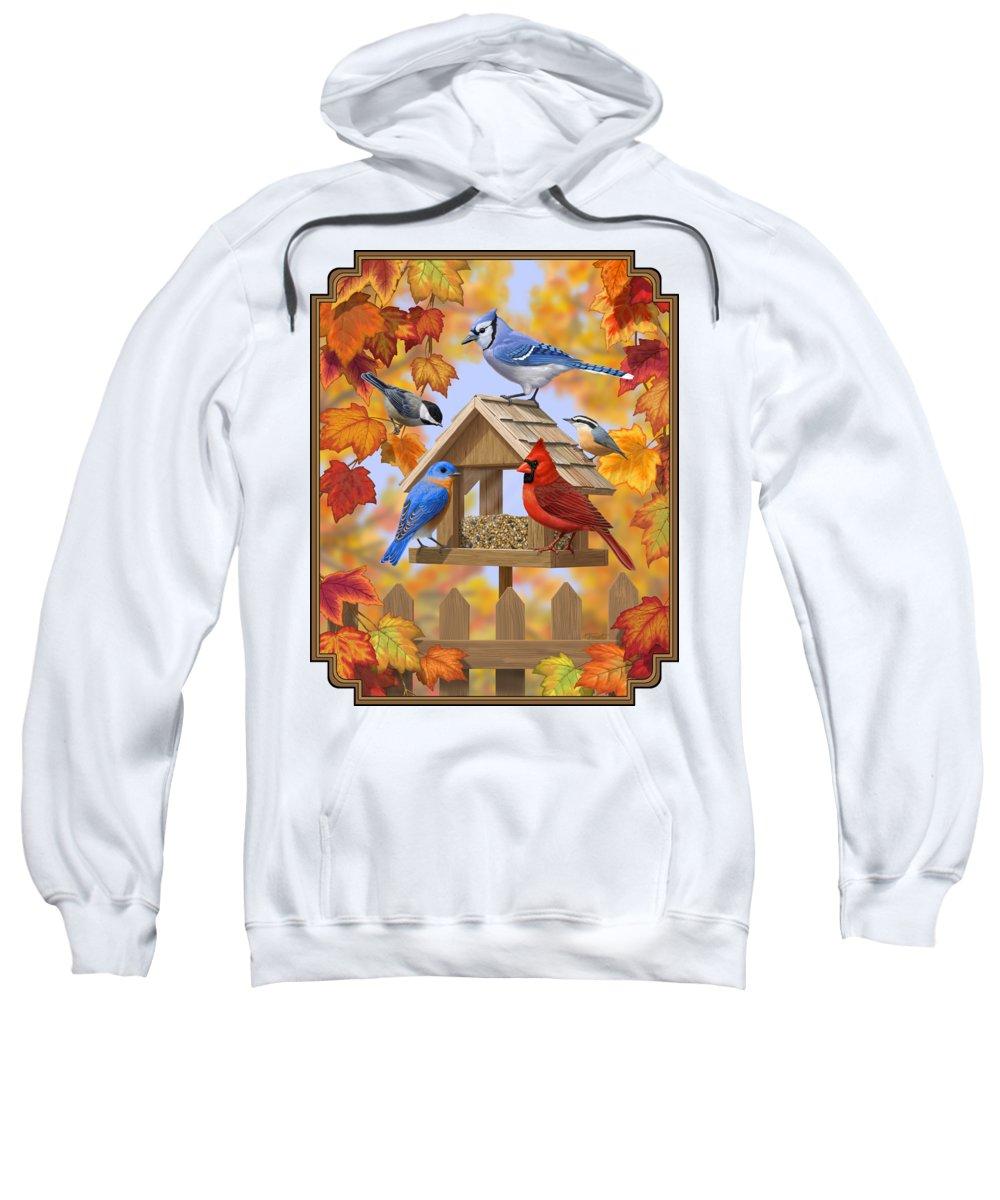 Bird Watching Hooded Sweatshirts T-Shirts