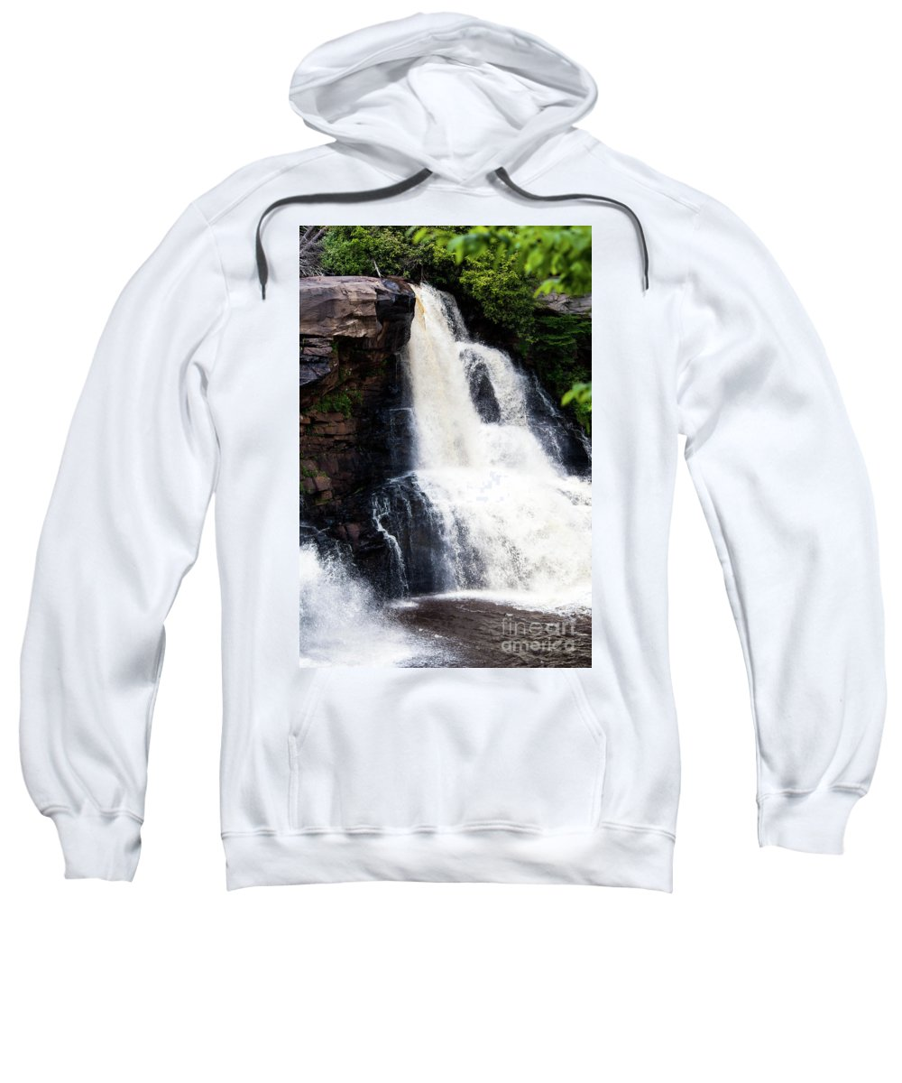 Blackwater Sweatshirt featuring the photograph Blackwater Falls #6 by Kevin Gladwell