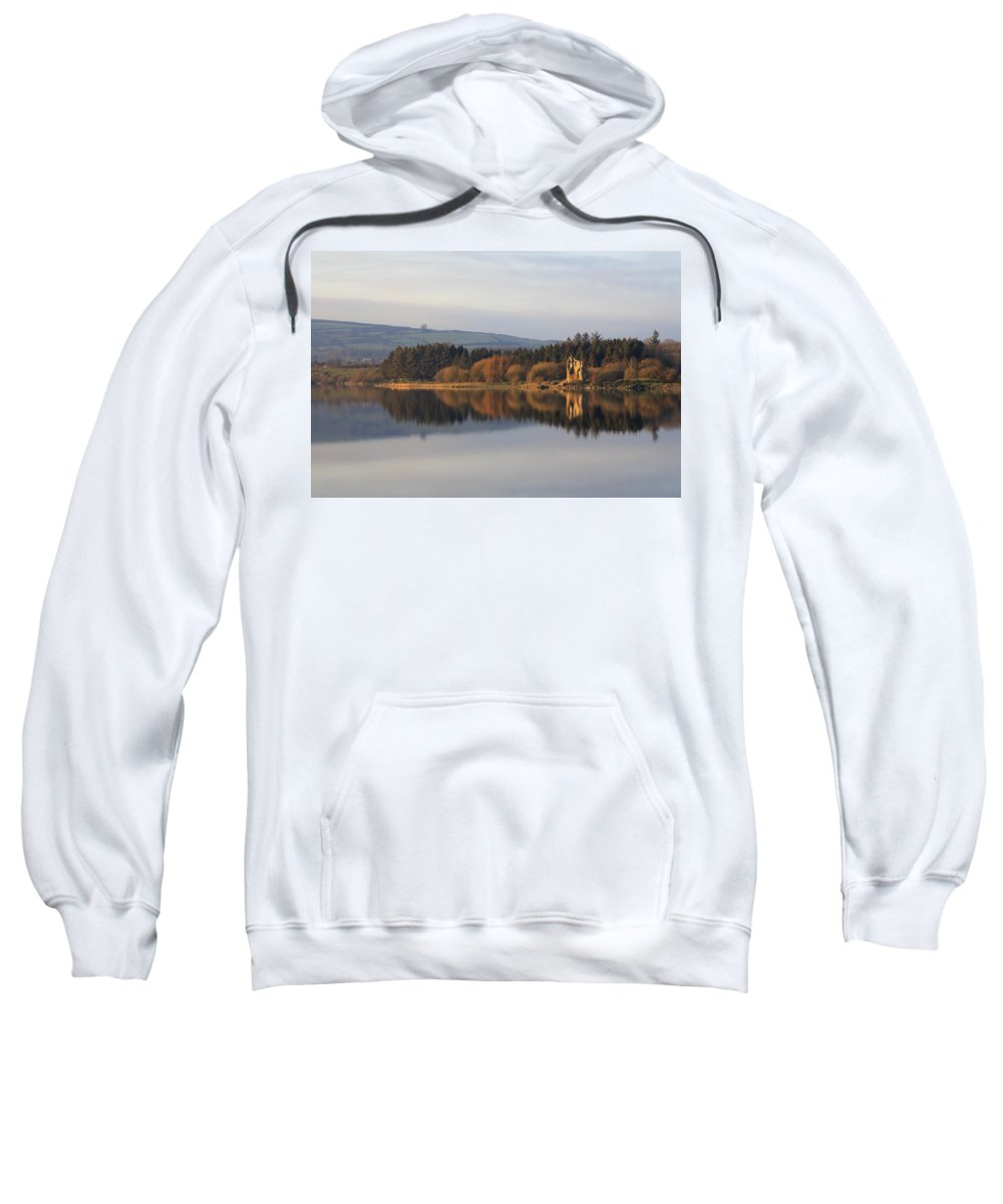 Lake Sweatshirt featuring the photograph Blessington Lakes by Phil Crean
