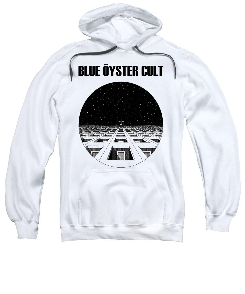Blue Oyster Cult Digital Art Hooded Sweatshirts T-Shirts