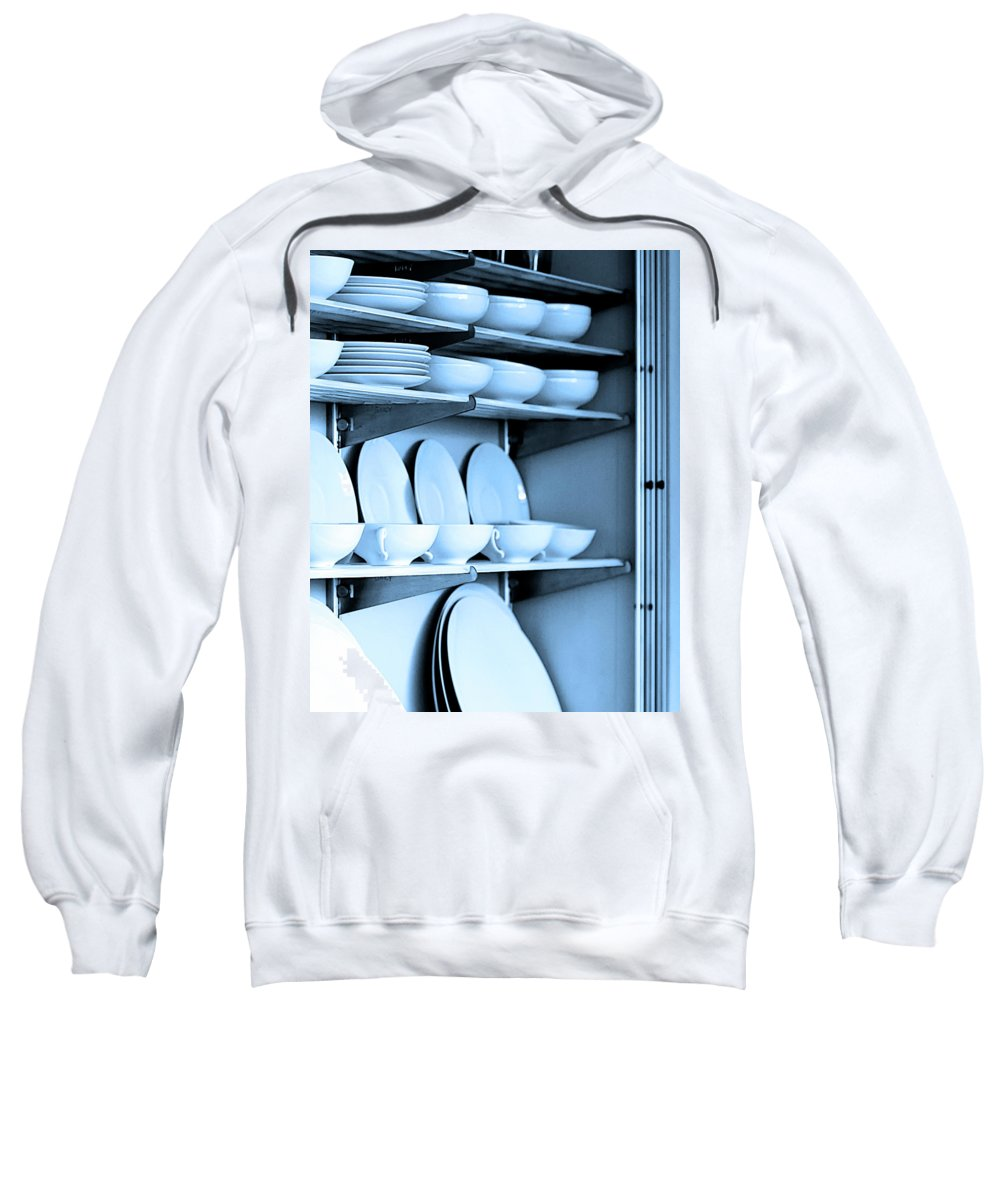 Frey House Sweatshirt featuring the photograph Blue Monday by William Dey