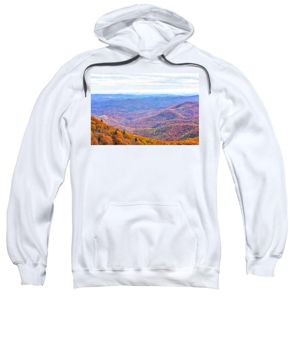 Blue Ridge Mountains Sweatshirt featuring the photograph Blue Ridge Mountains 3 by Gestalt Imagery