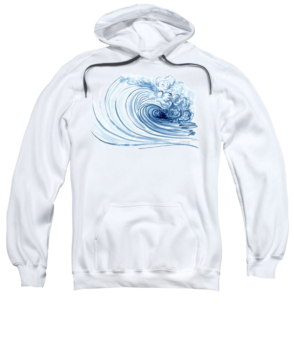 Perfect Storm Paintings Hooded Sweatshirts T-Shirts