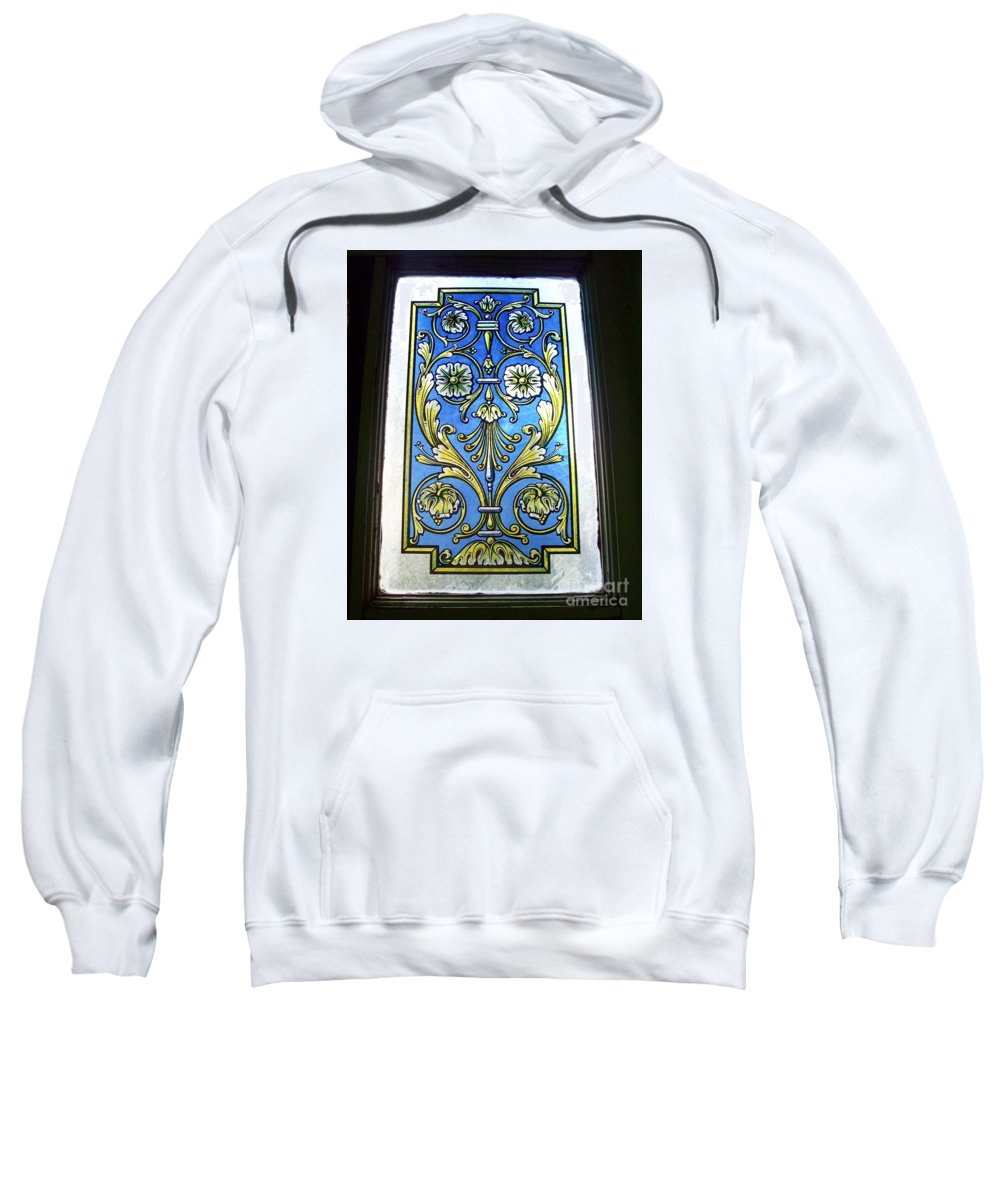 Blue Window Sweatshirt featuring the photograph Blue Window by Seaux-N-Seau Soileau