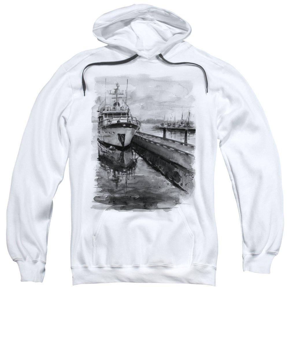 Marina Hooded Sweatshirts T-Shirts