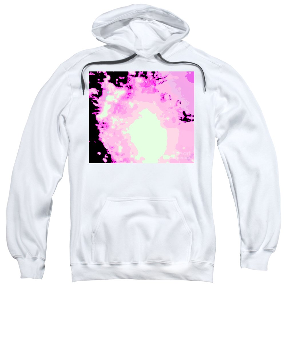 Water Art Sweatshirt featuring the photograph Spark Of Heart Light by Sybil Staples