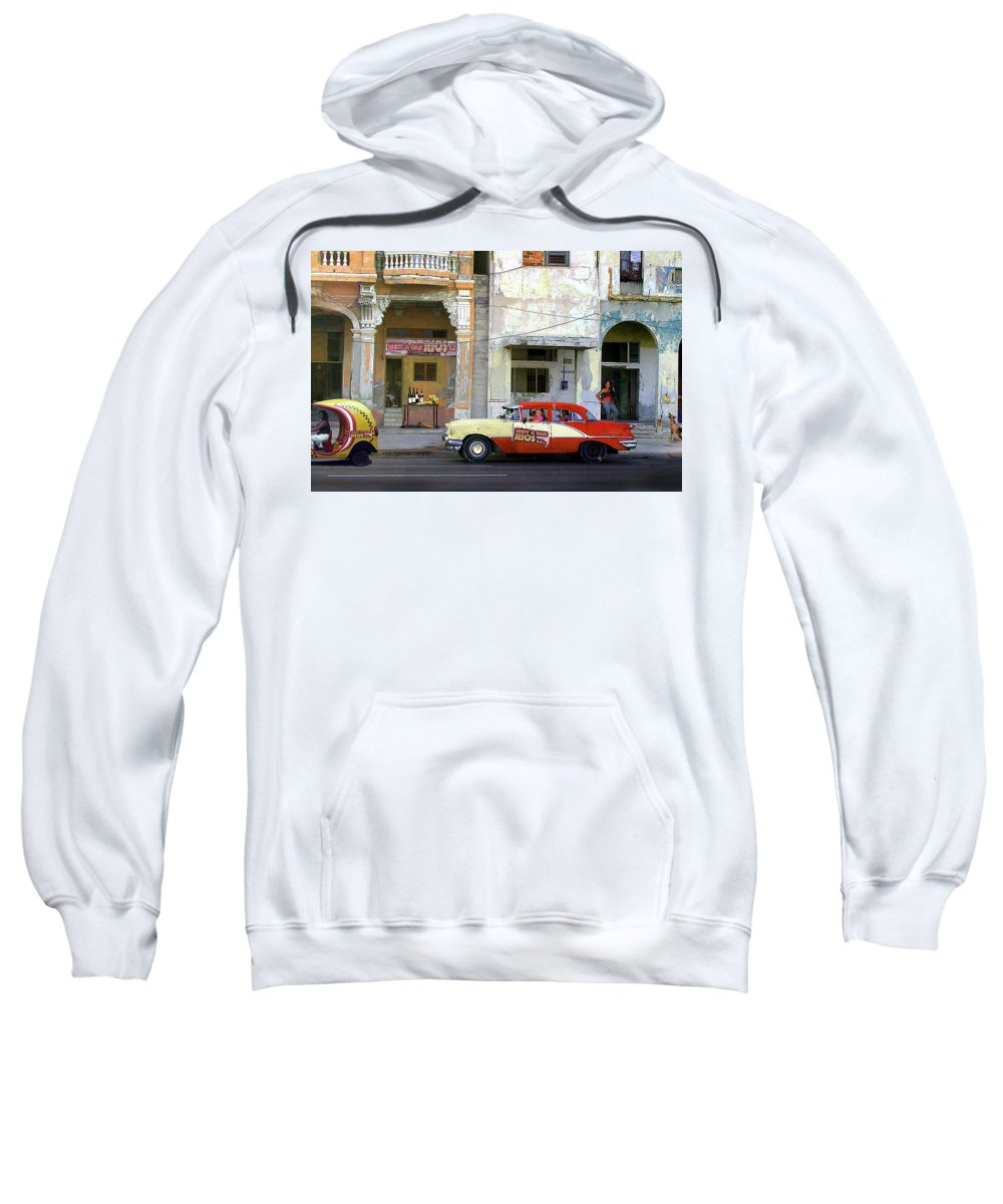 America Sweatshirt featuring the photograph Boss Of The Business by Peter Hayward Photographer