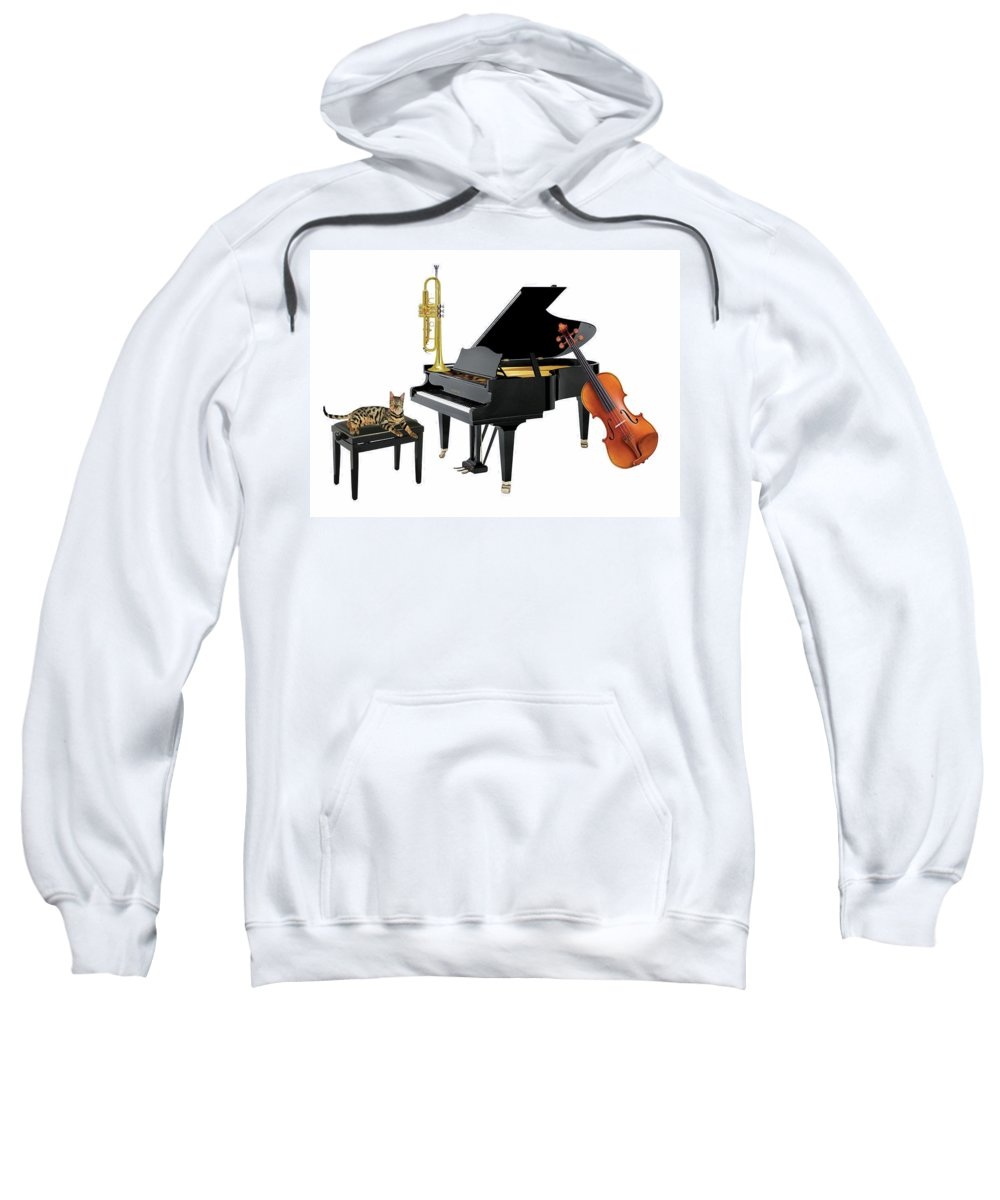 Music Sweatshirt featuring the photograph Break by Manfred Lutzius