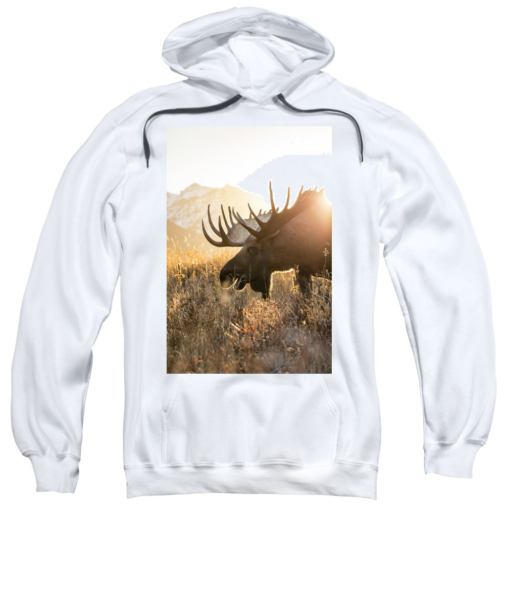 Adult Sweatshirt featuring the photograph Breakfast At Sunrise by Tim Grams