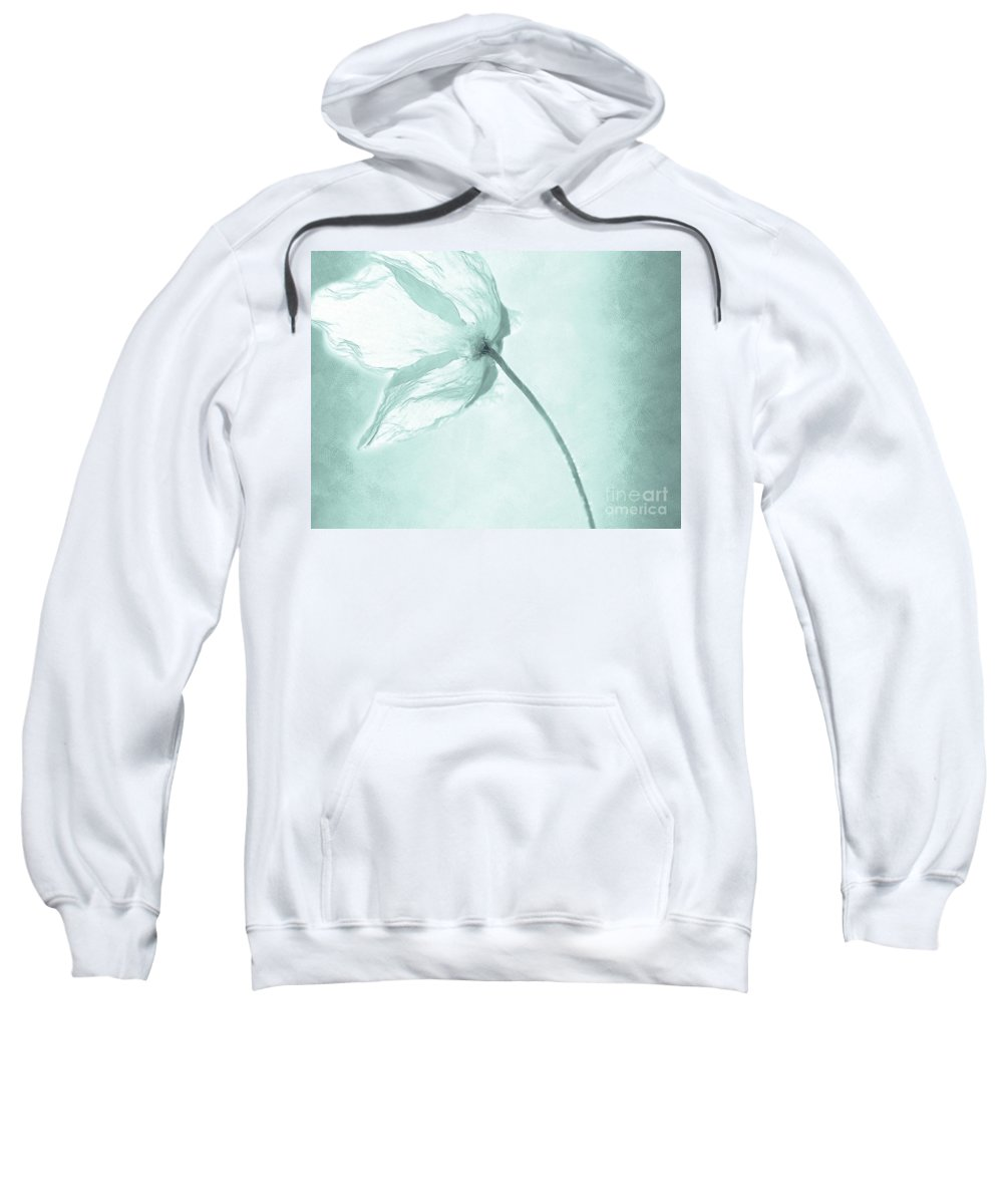 Flower Sweatshirt featuring the painting Breeze by Jacky Gerritsen