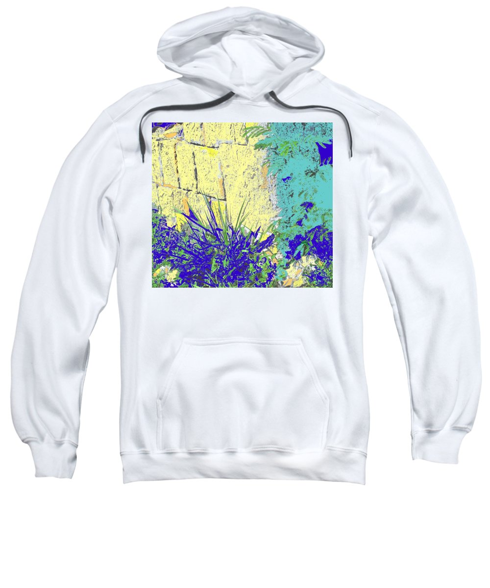 Brimstone Sweatshirt featuring the photograph Brimstone Blue by Ian MacDonald