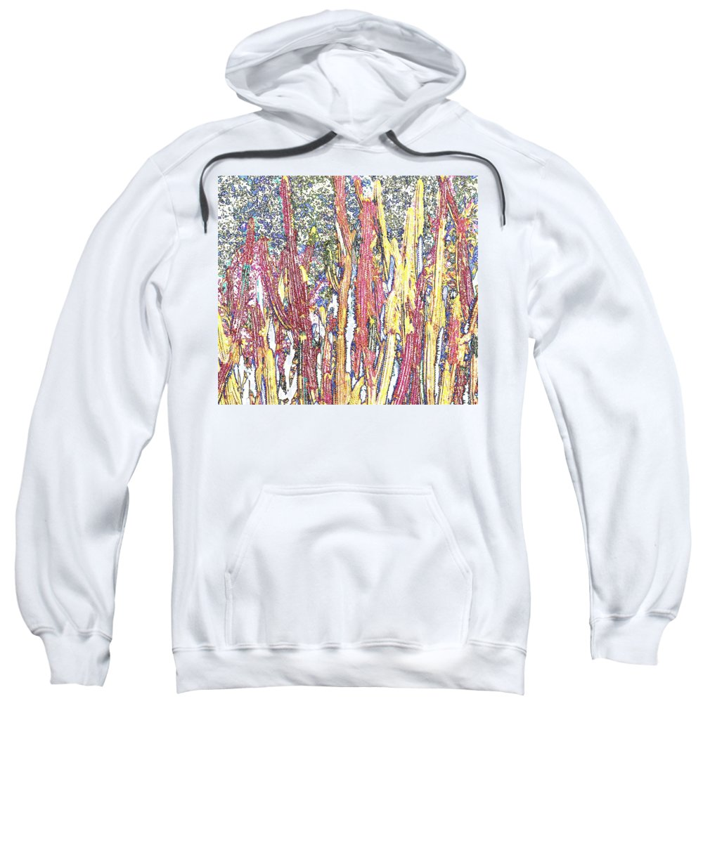 Forest Sweatshirt featuring the photograph Brimstone Forest by Ian MacDonald