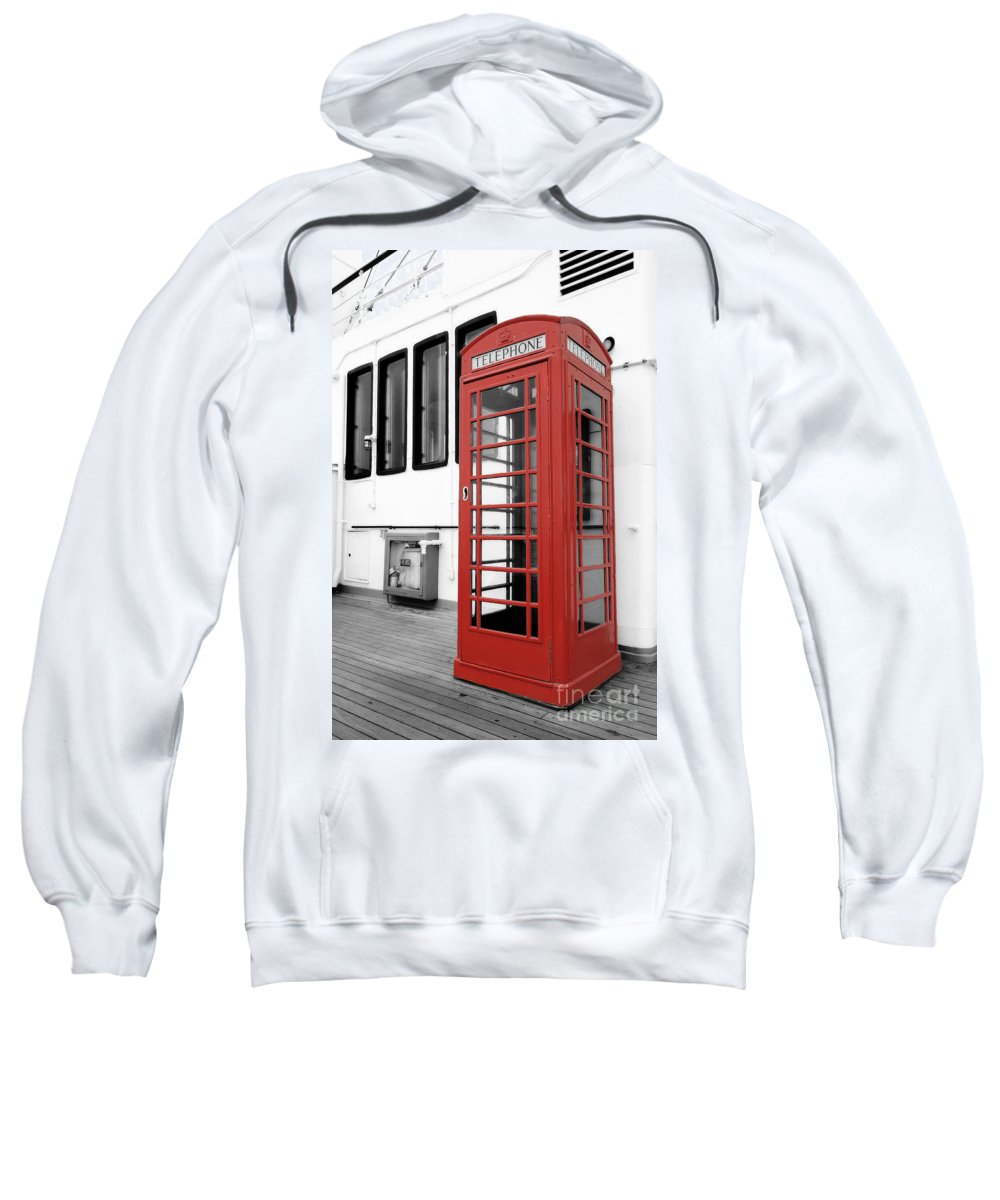 Art Sweatshirt featuring the photograph British Conversations by Charles Dobbs