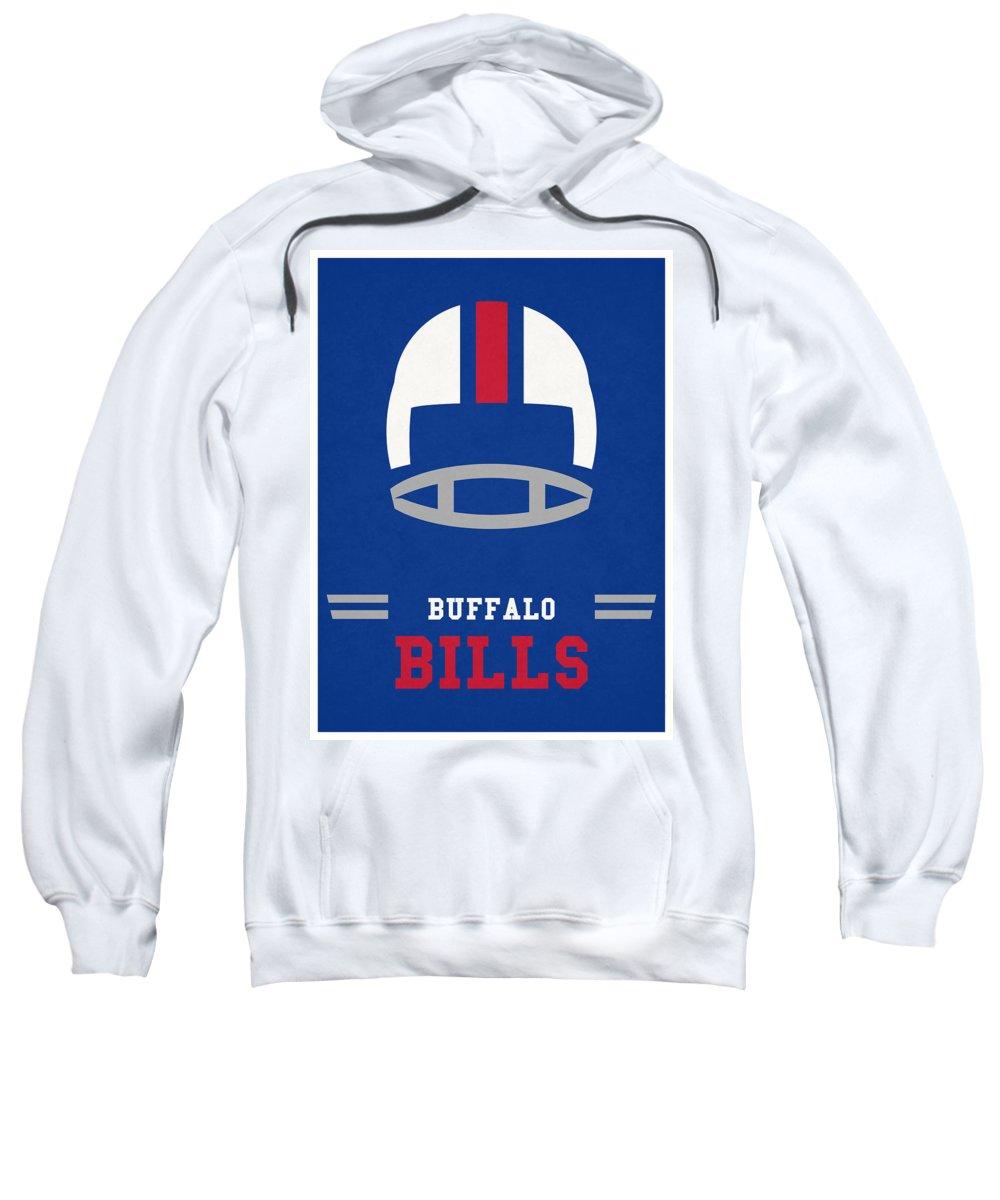 best service 6287f 47add Buffalo Bills Vintage Nfl Art Sweatshirt