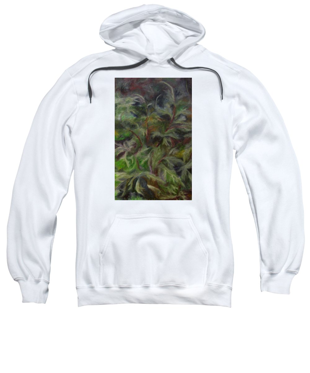 Bees Sweatshirt featuring the painting Bugbane by FT McKinstry