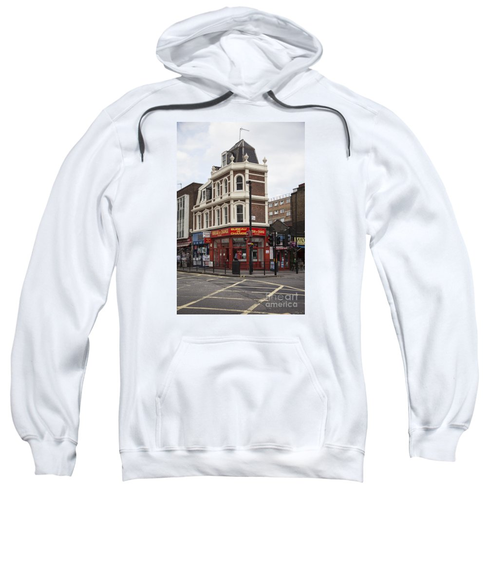 London Sweatshirt featuring the photograph Bureau Of Change by Timothy Johnson