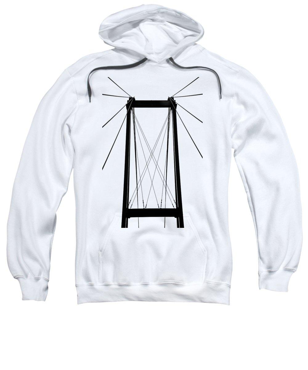 Vertical Line Hooded Sweatshirts T-Shirts