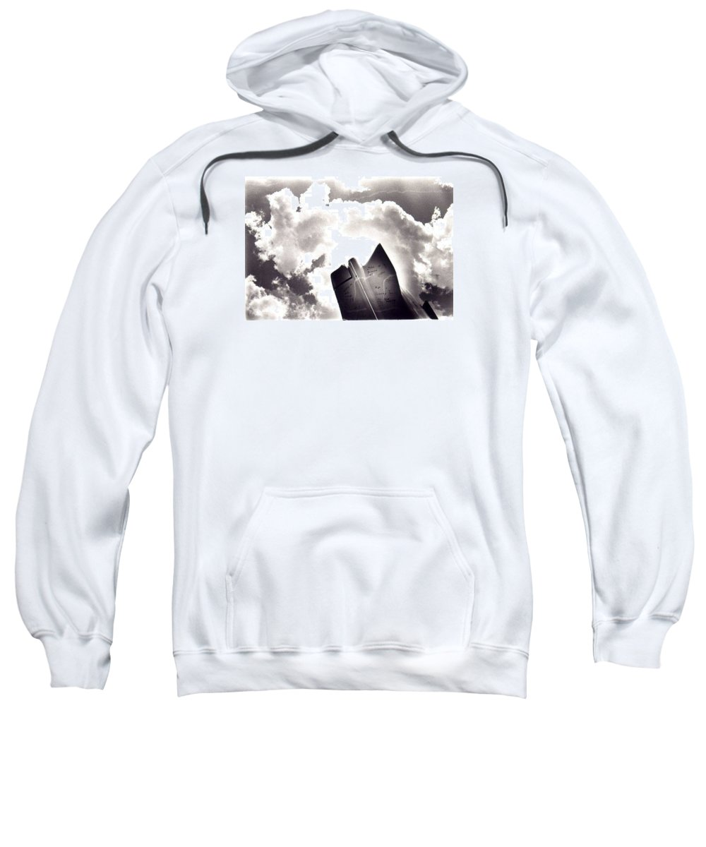 Cadillac Tailfin Sweatshirt featuring the photograph Cadillac by Ted M Tubbs