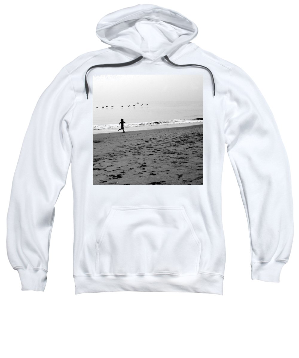 Photograph Sweatshirt featuring the photograph Carefree by Jean Macaluso