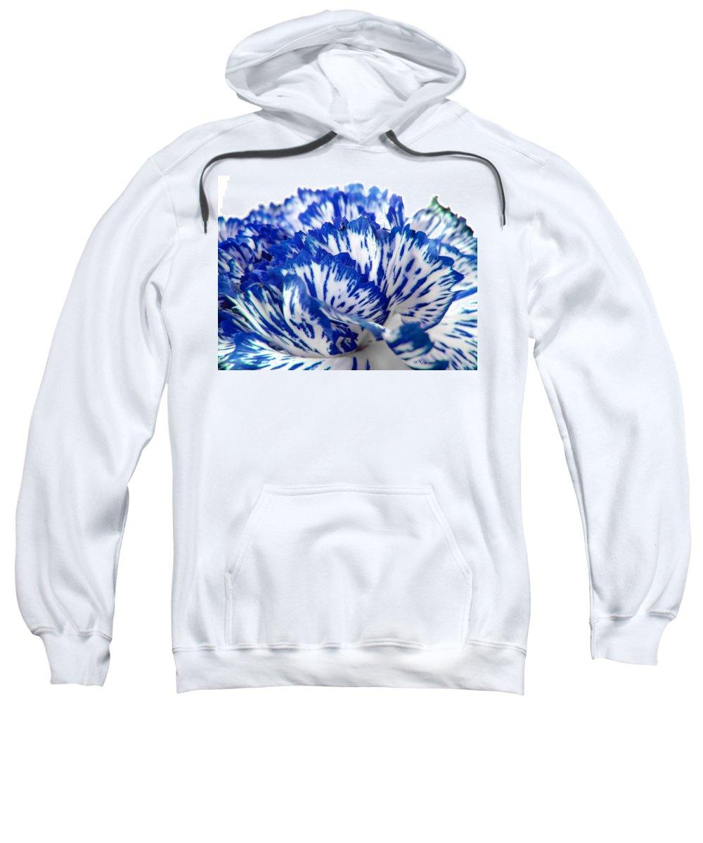 Carnation Sweatshirt featuring the photograph Carnation by Daniel Csoka