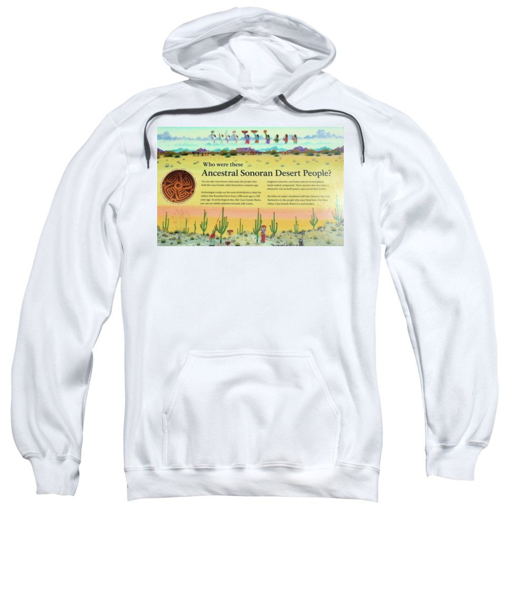 Ancient Sweatshirt featuring the photograph Casacgrande Ancient Ruins by Richard Jenkins