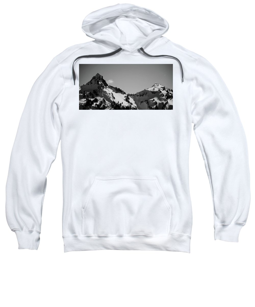Sweatshirt featuring the photograph Cascades 2 by Jacob Rietta Rain
