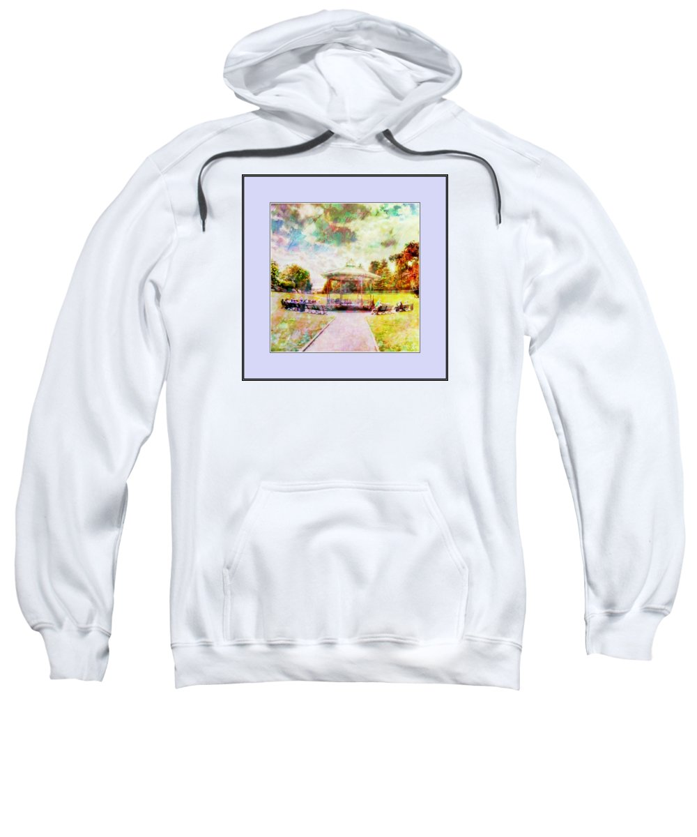 Beamish Sweatshirt featuring the digital art Catching Rays by John Lynch