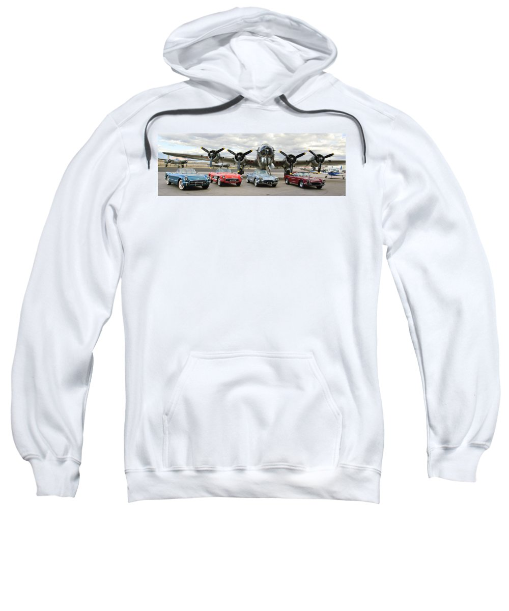 Sweatshirt featuring the photograph Cc 04 by Jill Reger