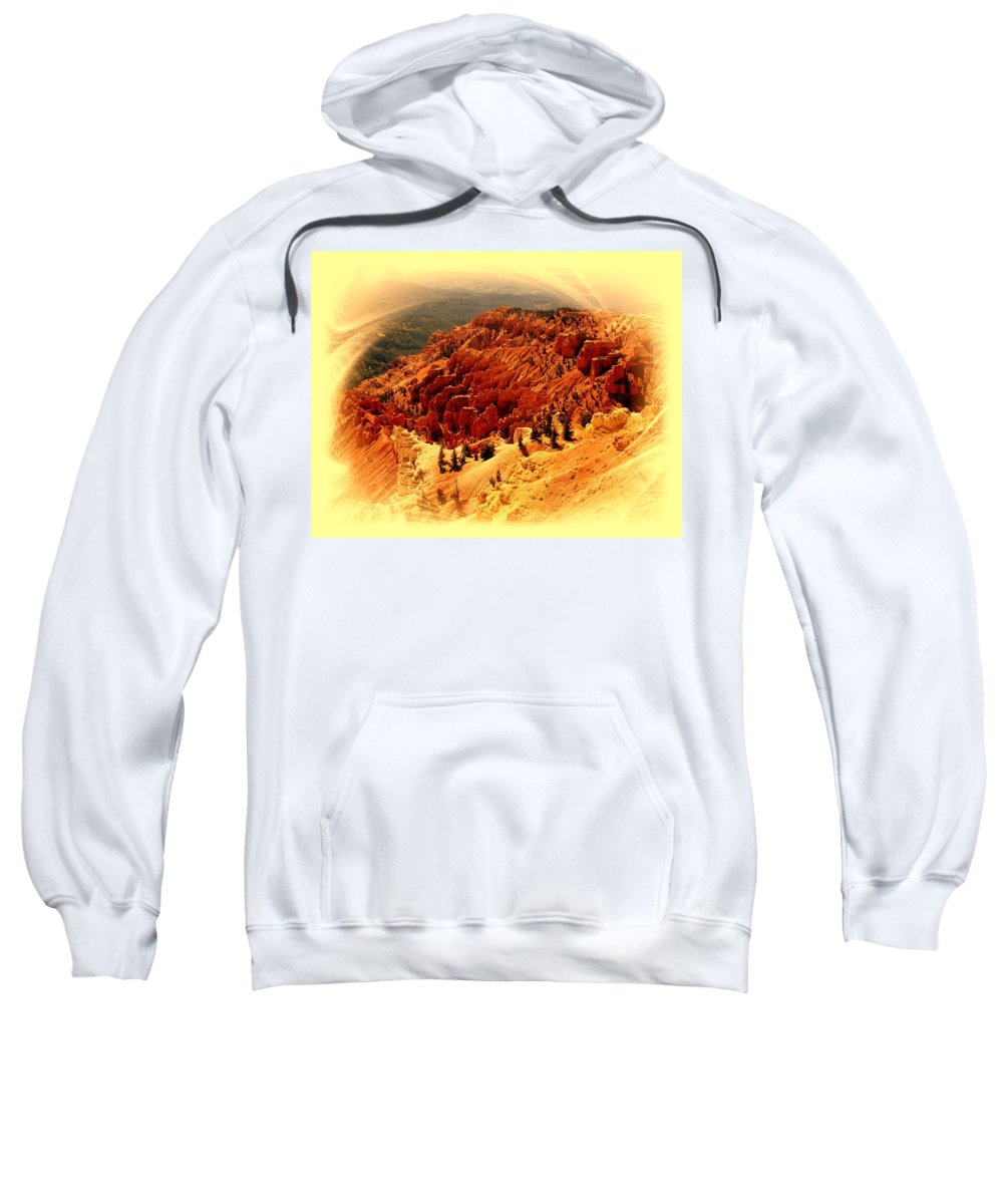 Cedar Breaks Sweatshirt featuring the photograph Cedar Breaks 2 by Marty Koch