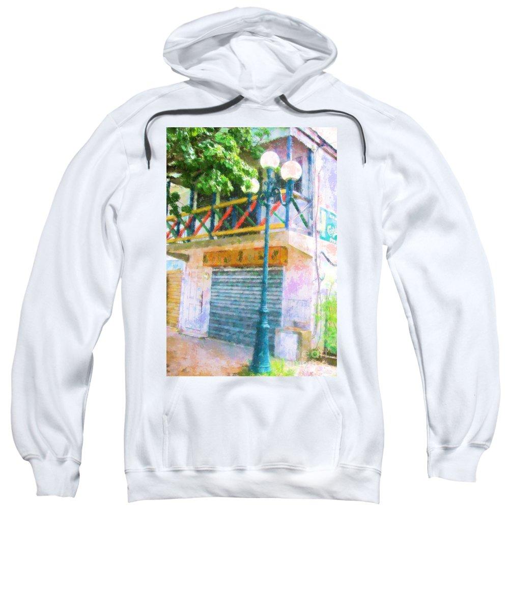 St. Martin Sweatshirt featuring the photograph Cest La Vie by Debbi Granruth